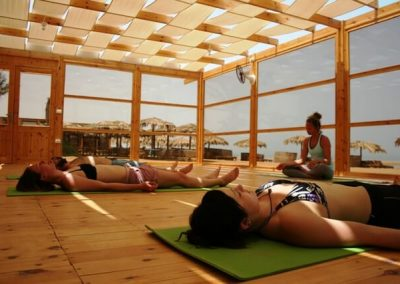 Endentspannung beim Yoga in El Gouna