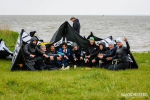 Kitecamp Gruppenfeeling bei Magicwaters Kite und Yoga Camps